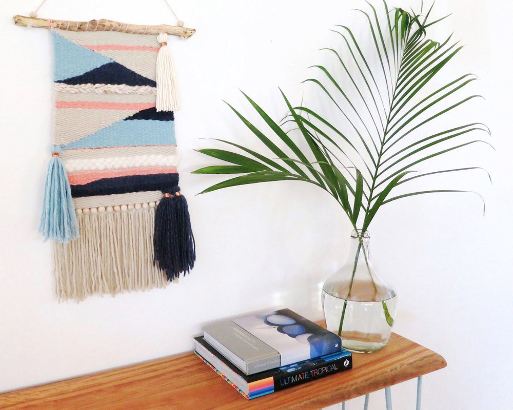 WOVEN WALL HANGING FROM CREATIVEBOWERBIRD