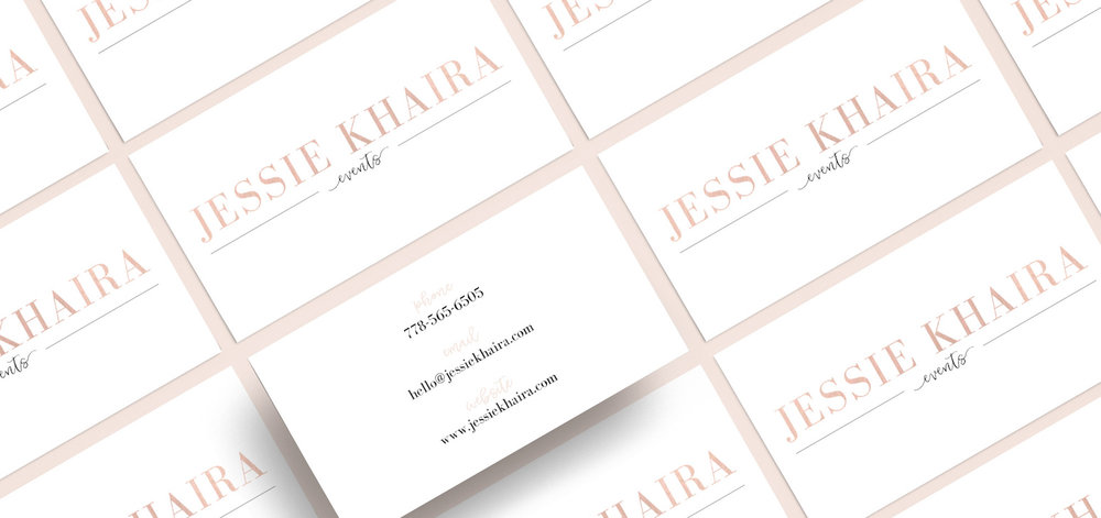 PRINT DESIGN FOR  JESSIE KHAIRA EVENTS