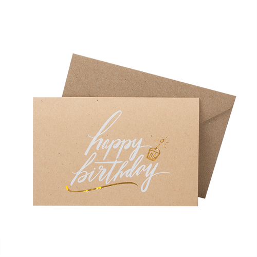 Happy Birthday Greeting Card Lithe Collective