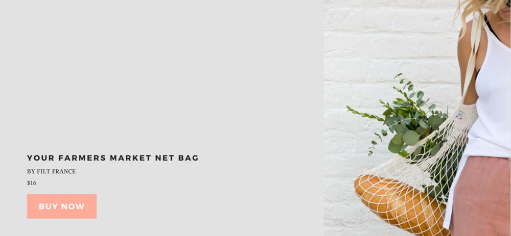 Lithe Collective Filt Net Bag