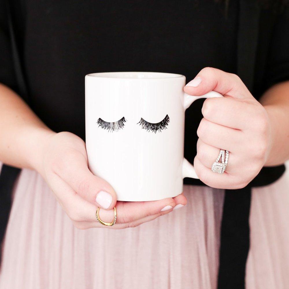 Eyelash Mug