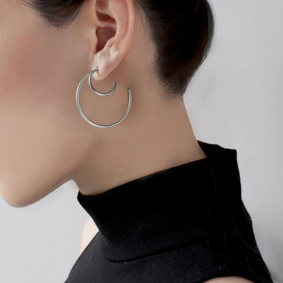 Cirque Hoop Earrings