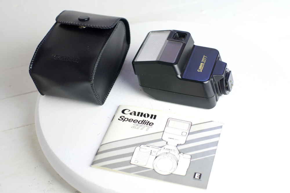 canon 277t speed lite flash unit with case diffuser and manual for rh fstopcameras com Canon Speedlite 188A Canon Speedlite 430EX II Review