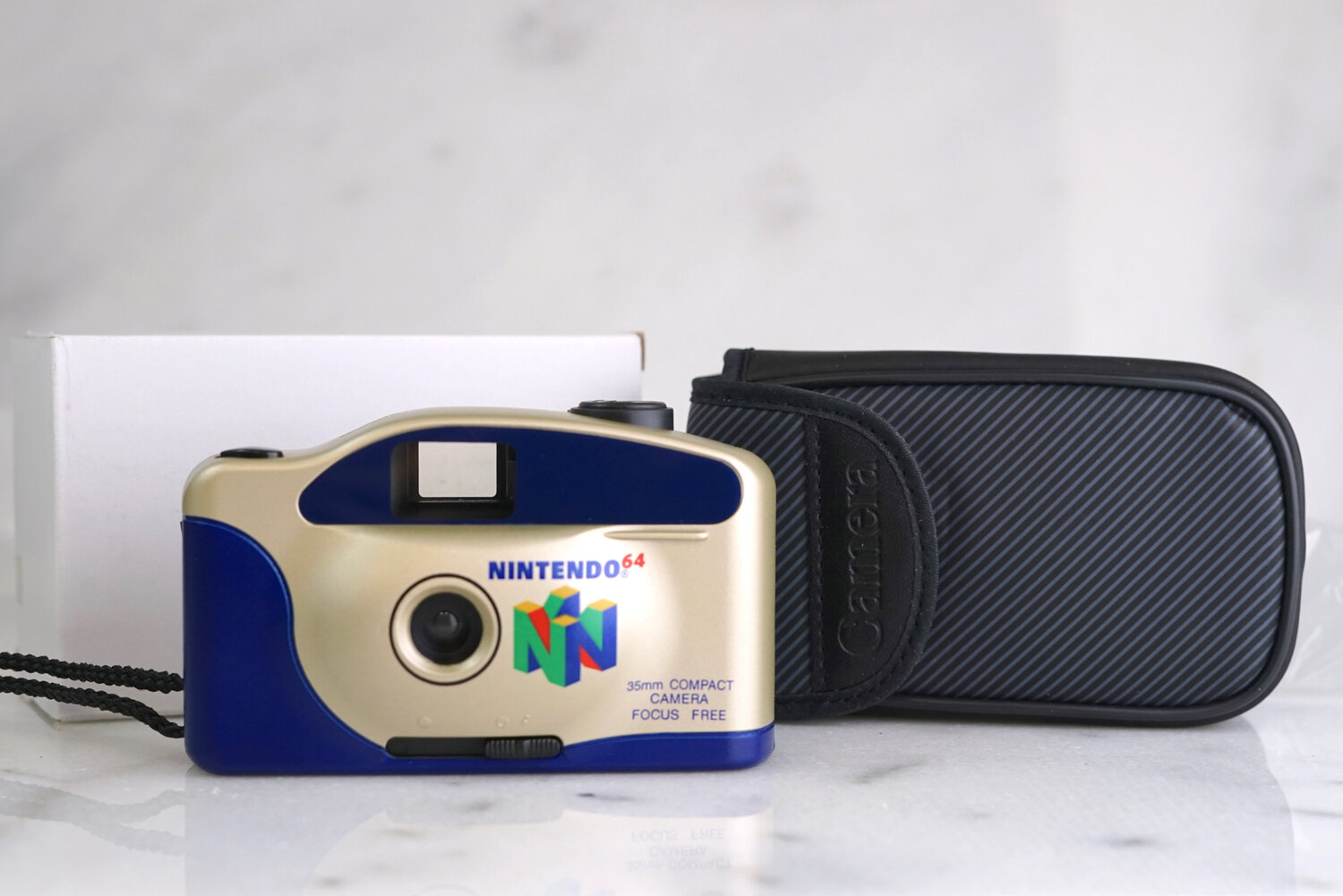 Vivitar Focus Free Point and Shoot 35mm Film Camera with Panoramic Setting