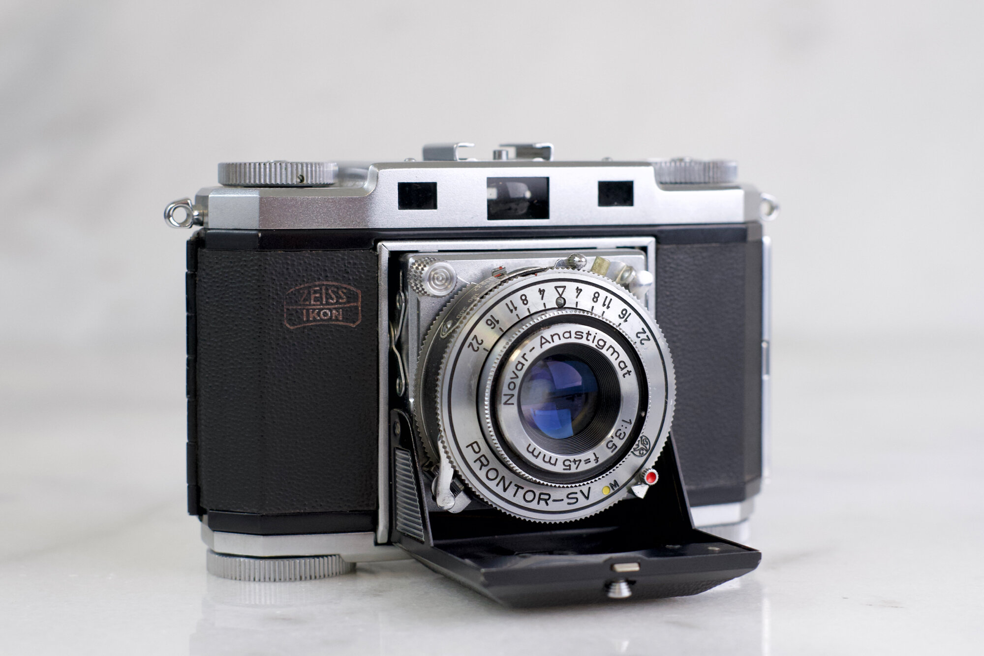 Zeiss Ikon Contax II A 35mm Film Rangefinder Camera with Zeiss Opton Sonnar  50mm F/2 Fast Prime Lens - For Repair — F Stop Cameras