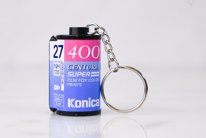 Kodak Gold Super 200 35mm Film Canister Key Chain
