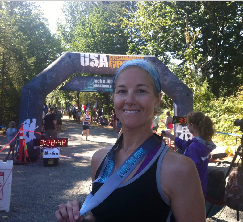This has been the most beautiful race  by far this running season ( 5/6 since Seattle marathon 2016). Having to use a headlamp through the 2.3 mile Tunnel made it the most interesting and fun race I've run yet.  Highly recommended marathon!  -Lisa C -