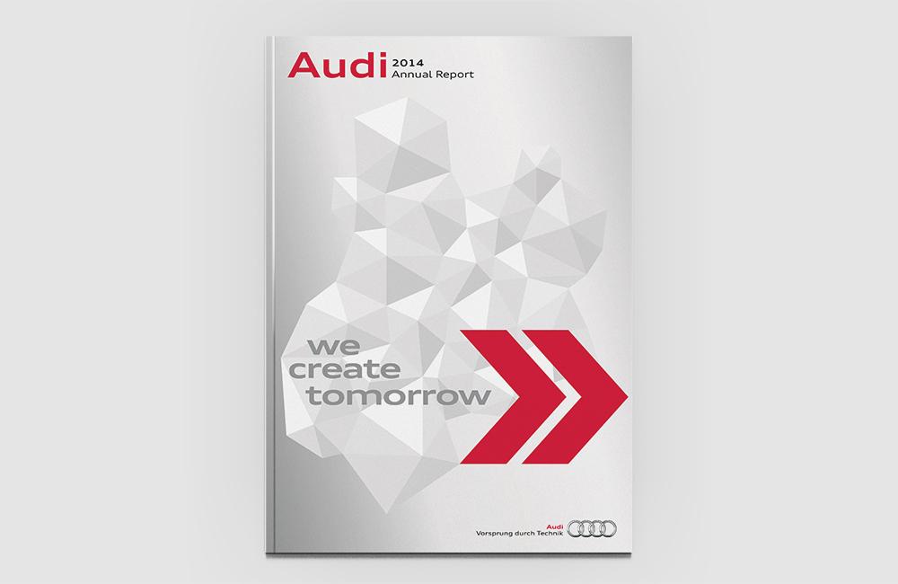 AUDI AG  – Geschäftsbericht 2014