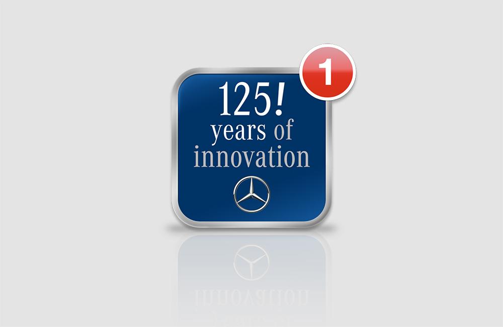 Mercedes-Benz –  125 Jahre-App