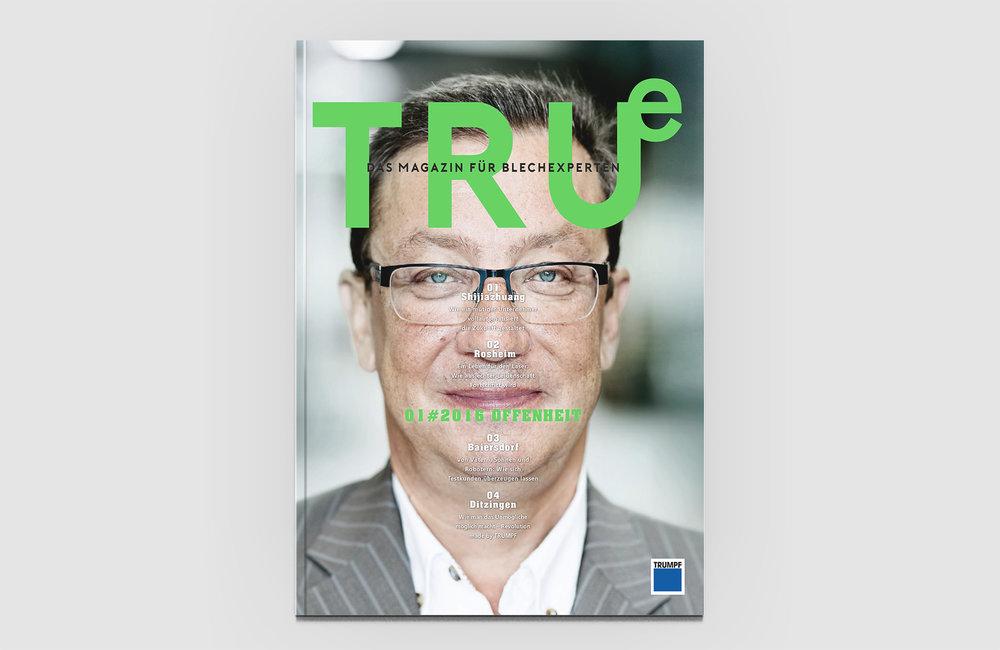 TRUMPF  – Kundenmgazin #01