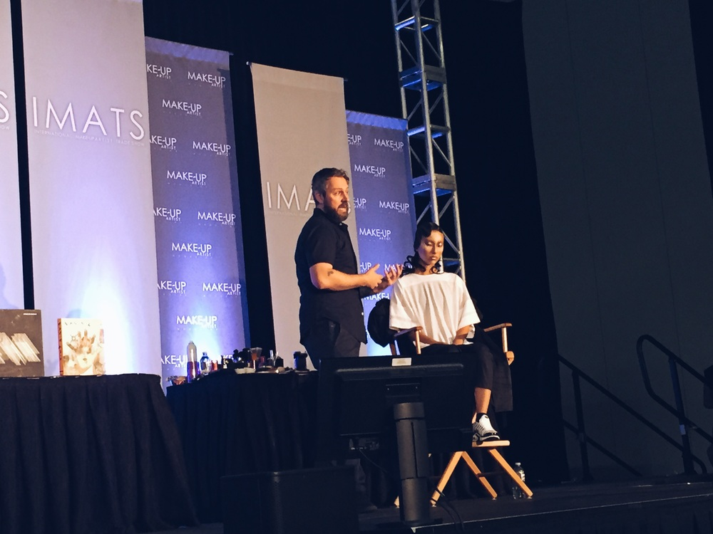 Jon on the IMATS mainstage