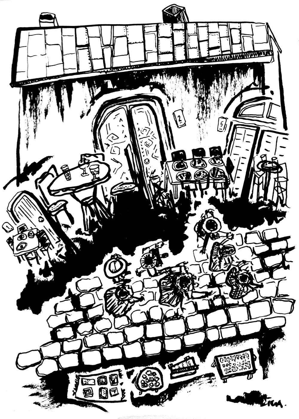 Līgas Brammenes zīmējums