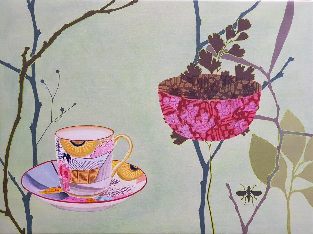Sun Cup  76 x 102 cm  oil on linen
