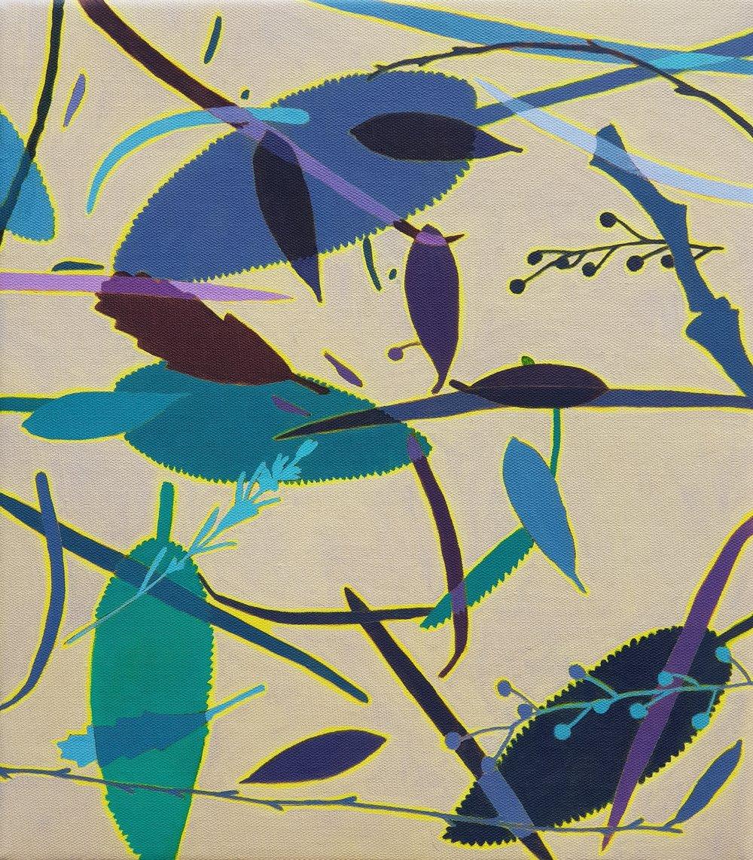 Leaf Litter 4  41 x 36 cm   oil on linen