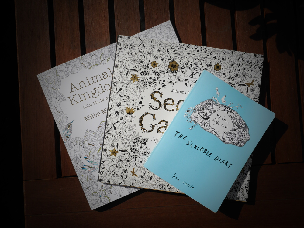 Animal Kingdom, Secret Garden, The Scribble Diary