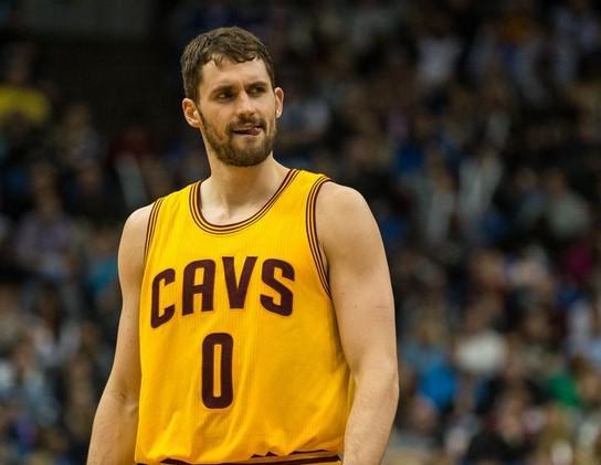PHOTO TIRÉE DE TWITTER Kevin Love n'exercera pas son année d'option avec les Cavaliers de Cleveland.
