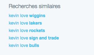 IMAGE TIRÉE DE TWITTER Il faut croire que plusieurs fans de basket cherchaient à savoir où ira Kevin Love.