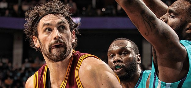PHOTO TIRÉE DE TWITTER Kevin Love