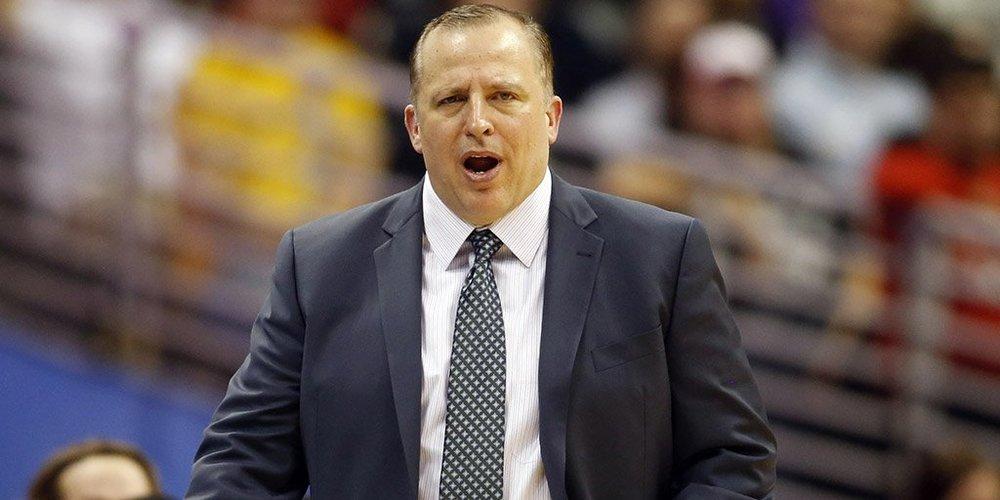 PHOTO TIRÉE DE TWITTER Tom Thibodeau, ex-entraîneur des Bulls de Chicago.