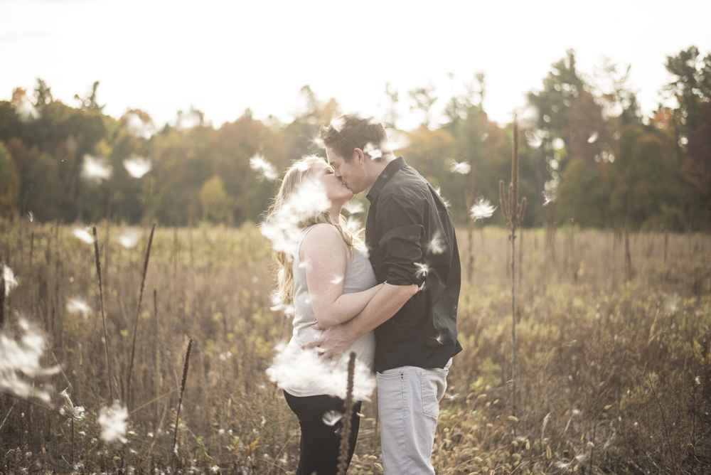 Rustic Vintage Fall engagement shoot
