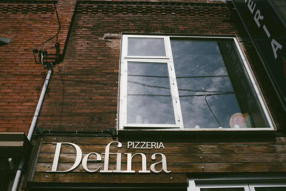 Pizzeria Defina Toronto Wedding