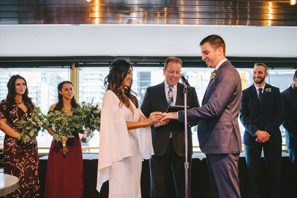 Urban Downtown Toronto Wedding, The Drake Hotel