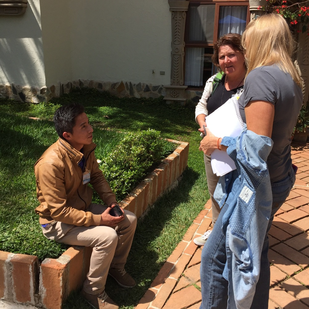 Young Reiki promoter in training with reiki trainers Diane Rooney and Bernadette Martin; overheard that this young was gifted with a special talent for healing. Powerful to meet these young shaman.