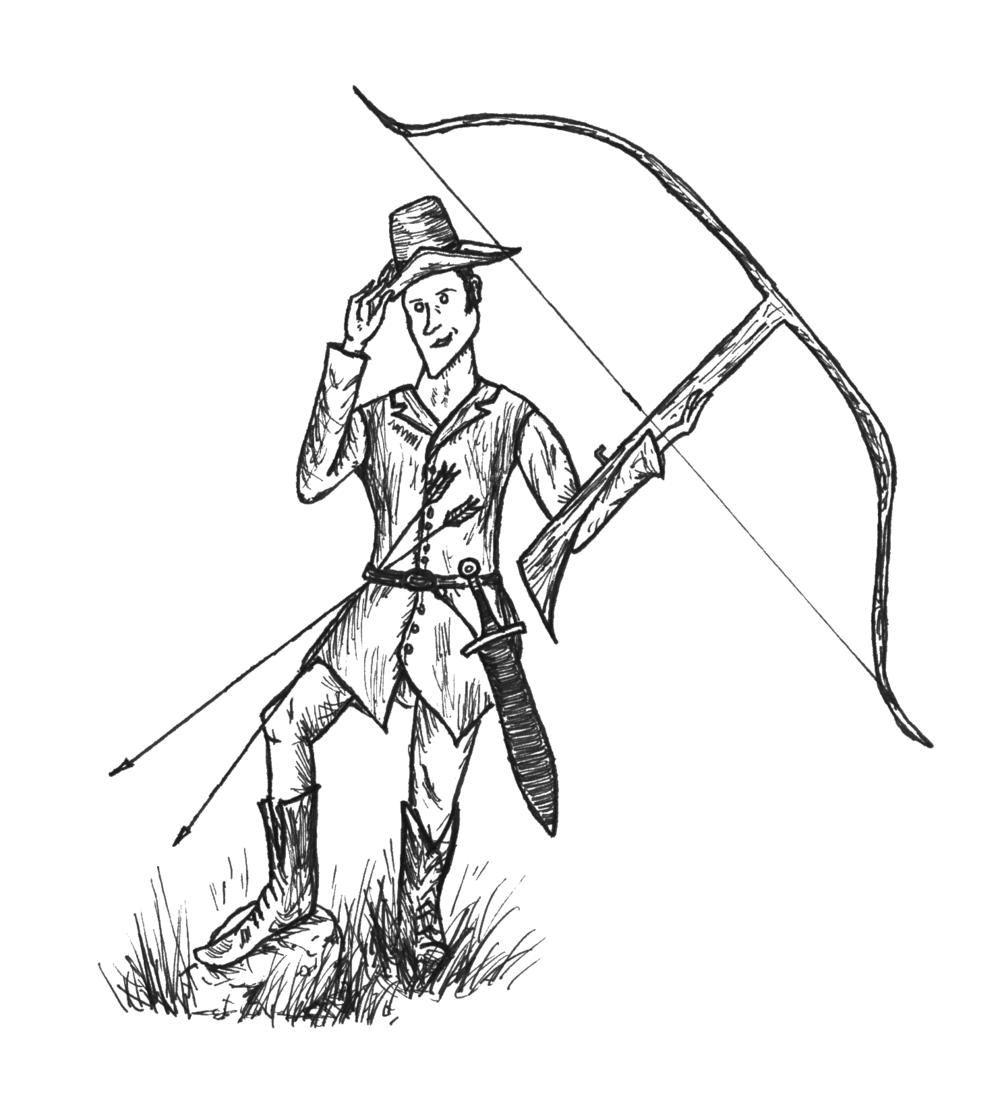 Nash Irving, famed hunter and hill-ranger.