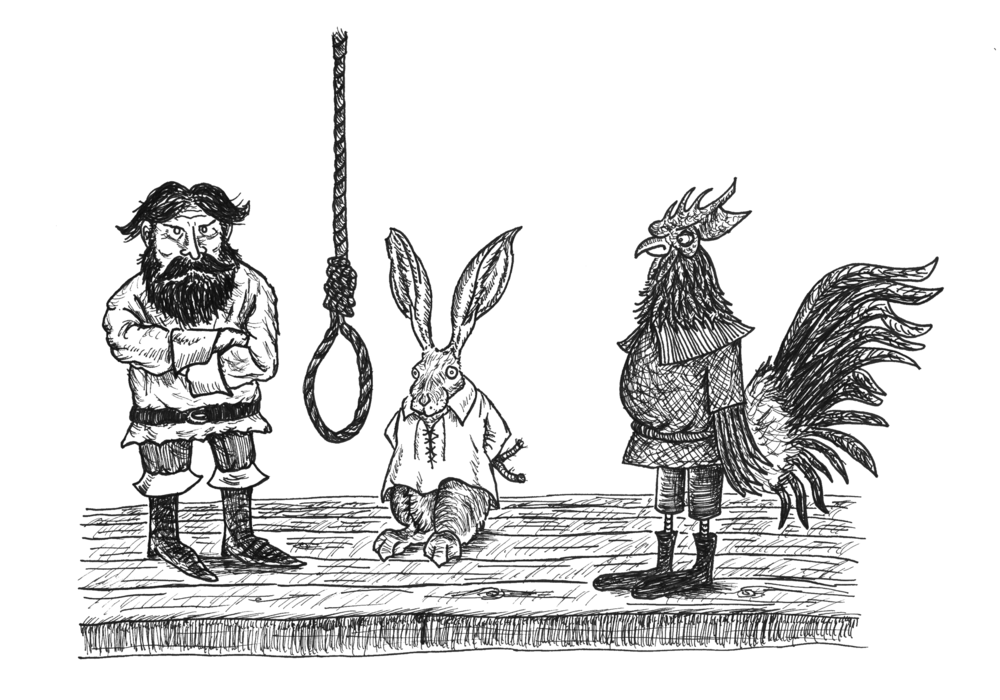 Jackrabbit, at his hanging.