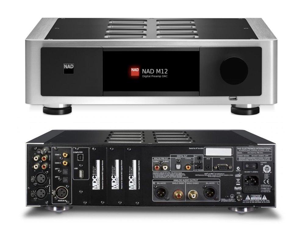 M12 Digital Preamp DAC