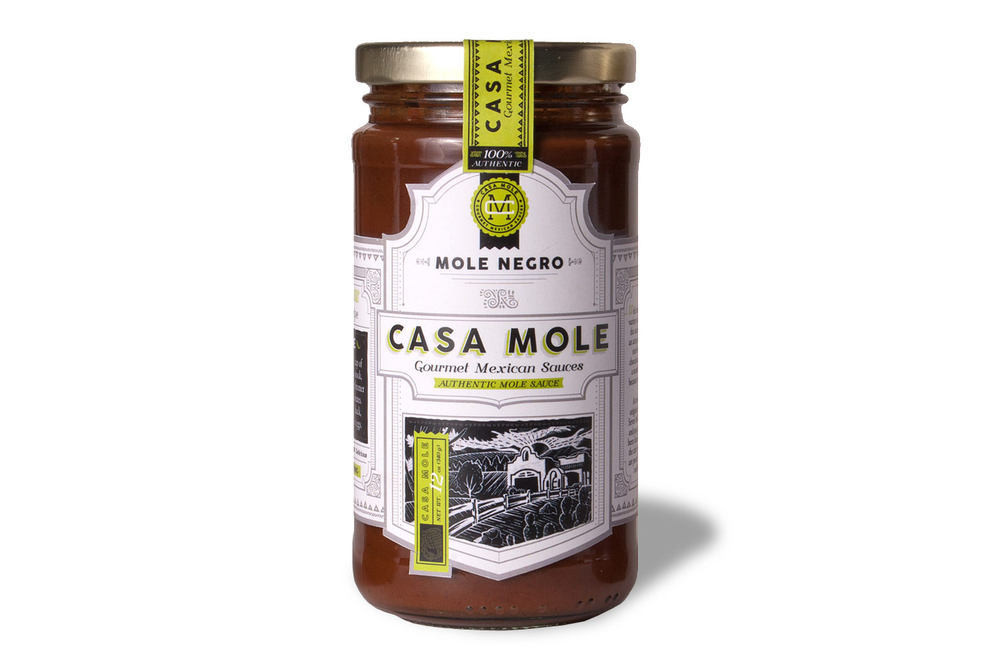 This recipe is comparable to the one we use for our Mole Negro. You can save time, and still get the same great taste by buying a bottle now. Just $12.95 ea. Serves 6 to 8 people. Click here to purchase.