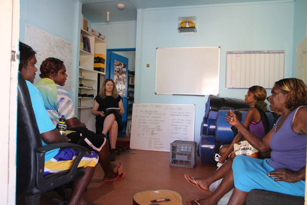Jigalong women rangers planning the year ahead