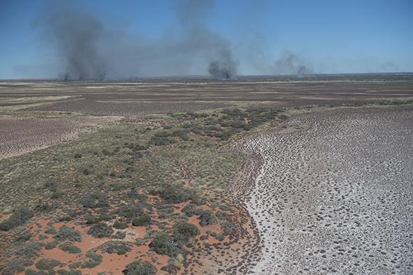 Aerial burn