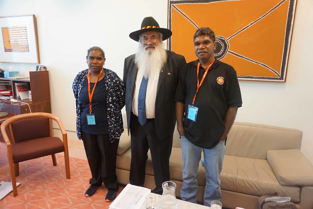 Martu met with Pat Dodson