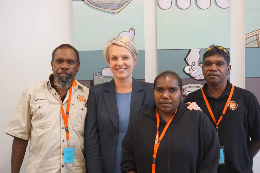 Martu spoke with Tanya Plibersek