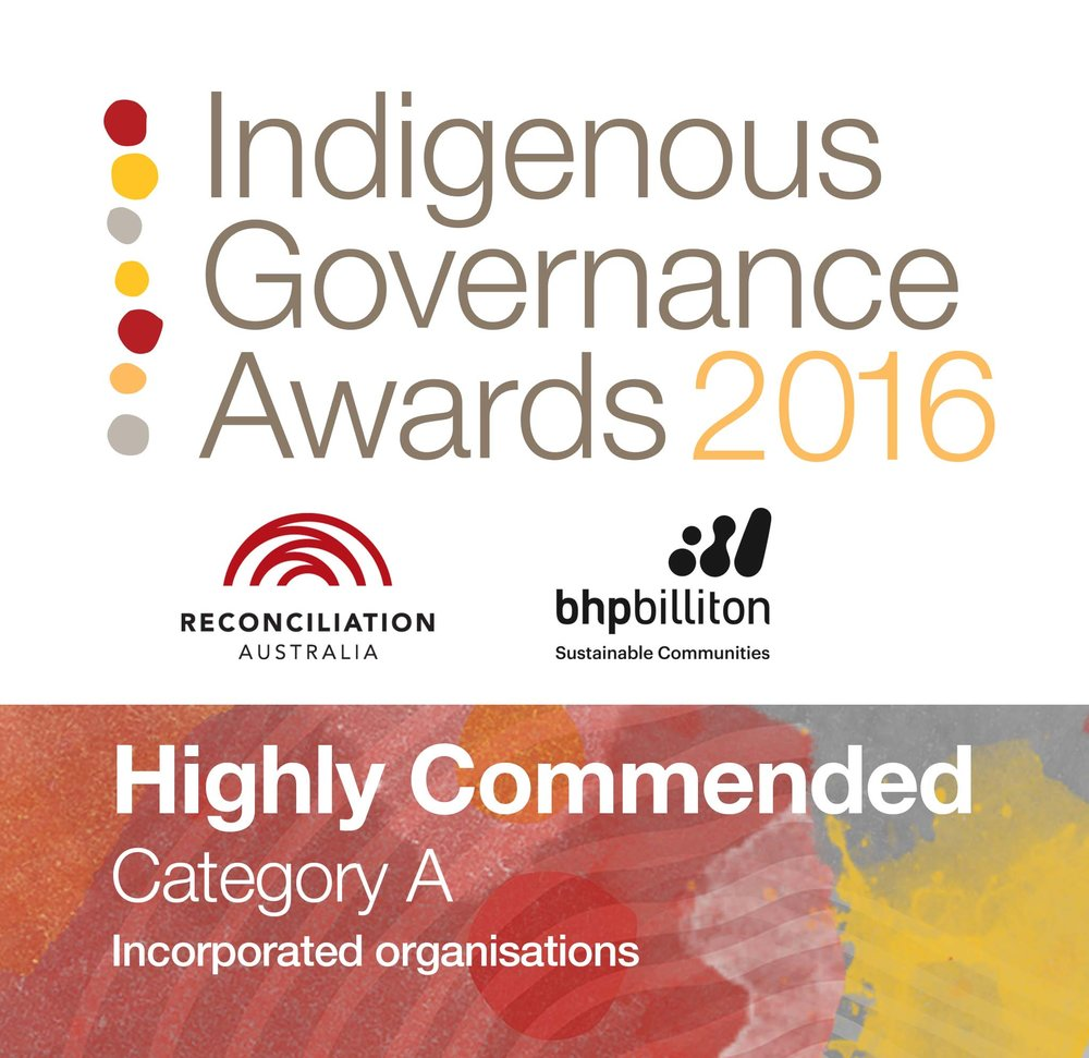 Indigenous governance awards