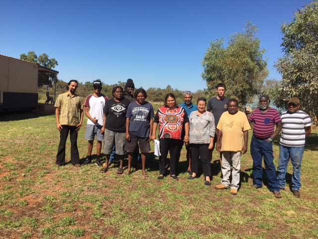 Above: Martu participated in a five day interpreter training and accreditation course