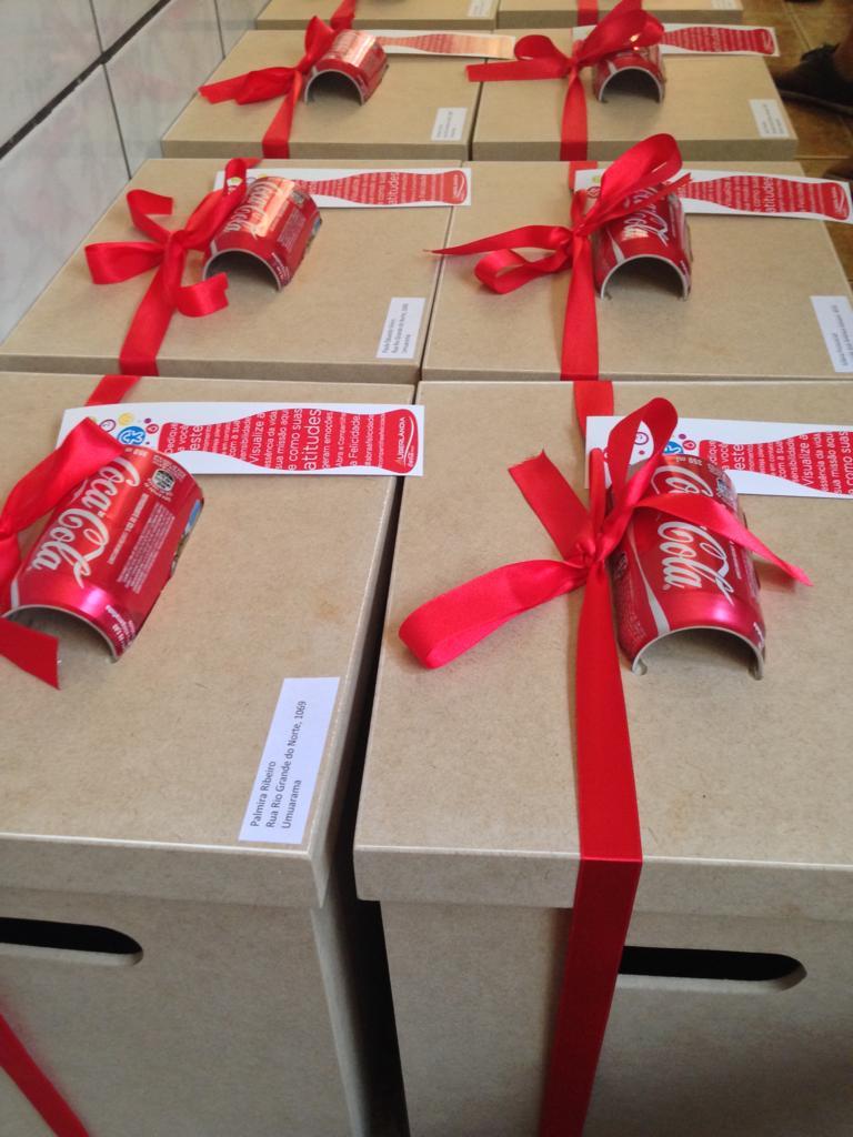 Ação Coca Cola Uberlândia