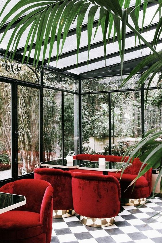 Hotel Particulier Montmartre-private lounge -art deco-red-crushed-velvet-.jpg