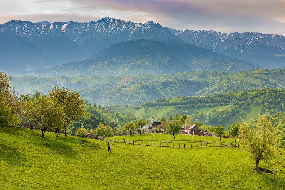 Carpatian mountains, Transylvania | the legend behind the name