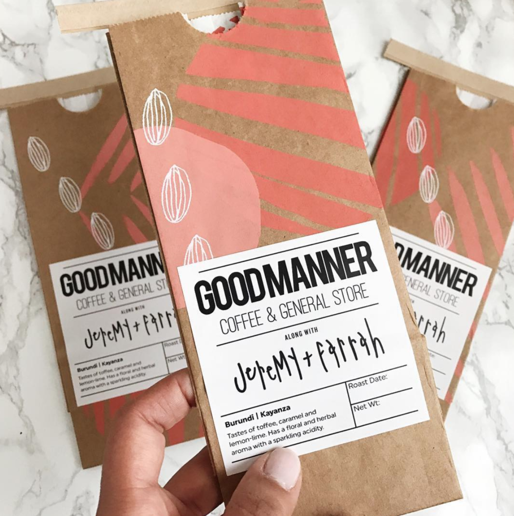 SECOND EDITION, SCREEN PRINTED FOR GOODMANNER COFFEE