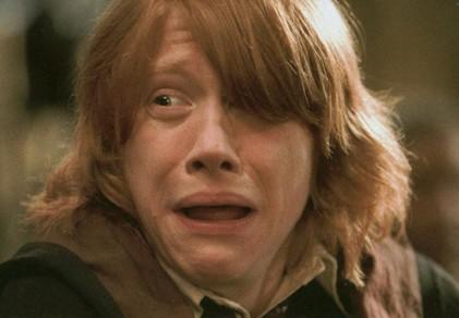 Ron's hair