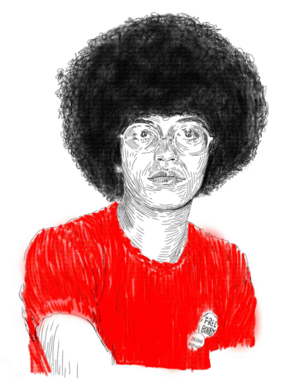 study of angela davis