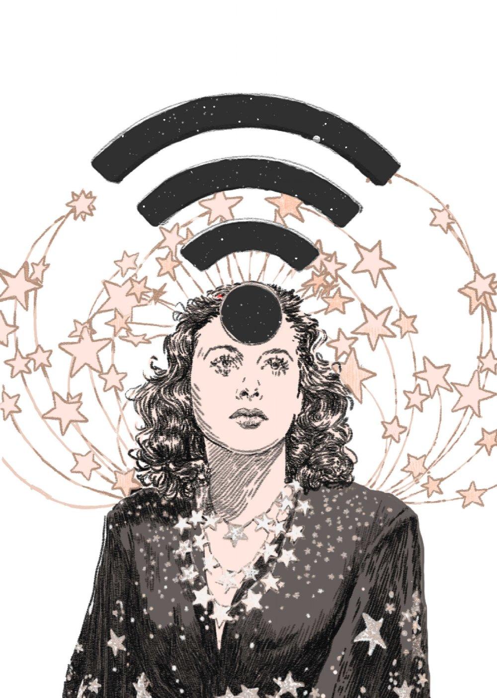 'mother of wifi' Hedy Lamarr