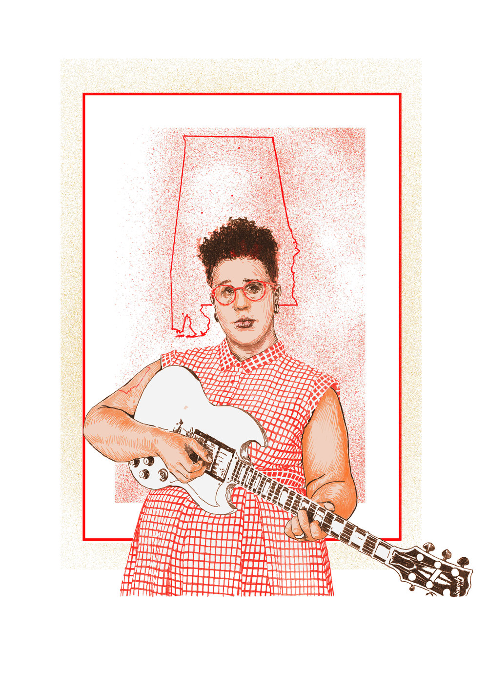 brittany howard  for ' WOMEN WHO ROCK  Bessie to Beyonce. Girl Groups to Riot Grrrl.' Edited by Evelyn McDonnell