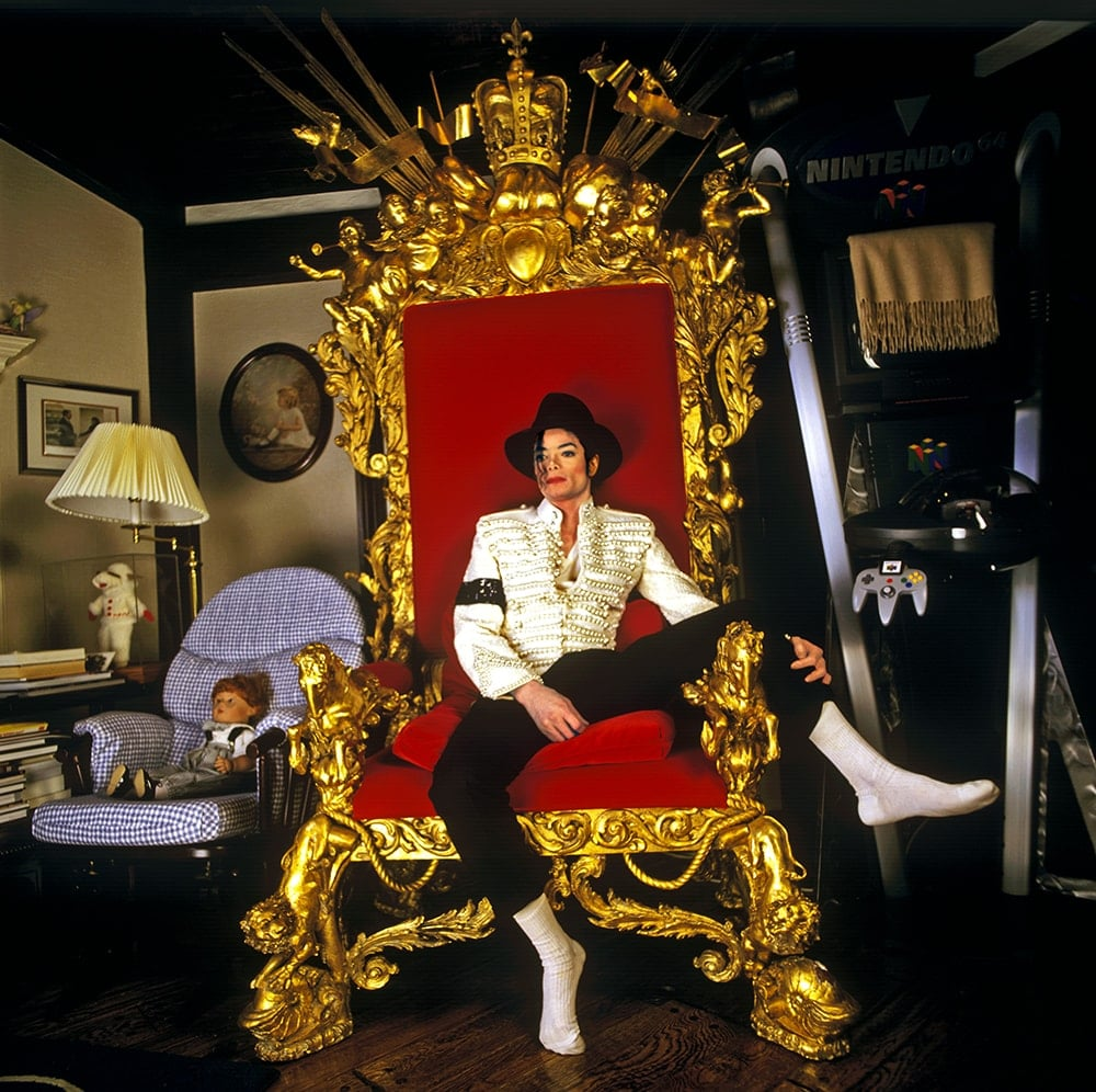 Michael J on throne retd more at Benson-min.jpg