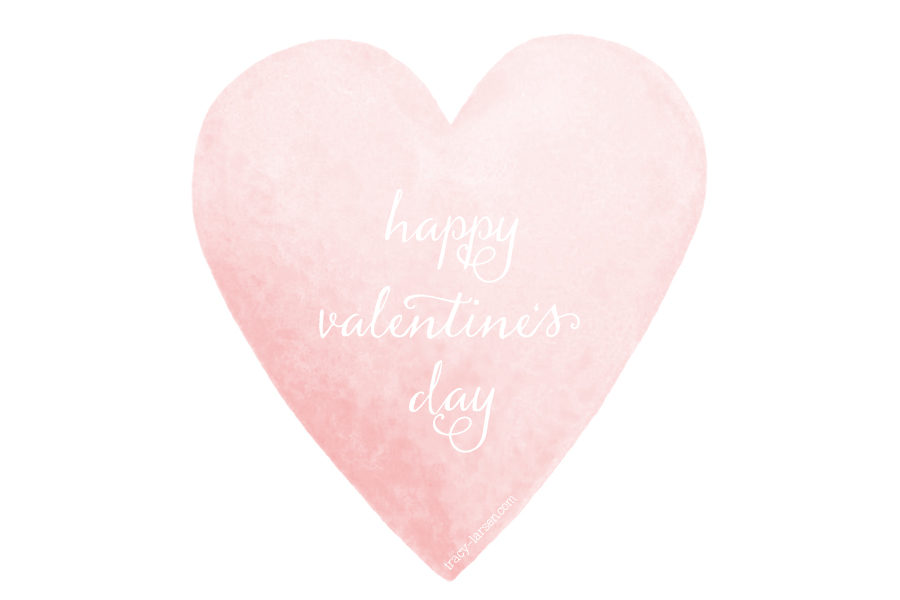 happy valentine's day ==> tracy-larsen.com