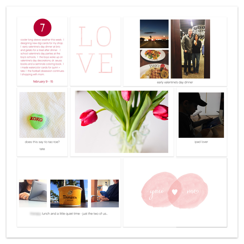 tracy larsen's digital project life pages 2015 - week 7 ==> hellotracylarsen.com