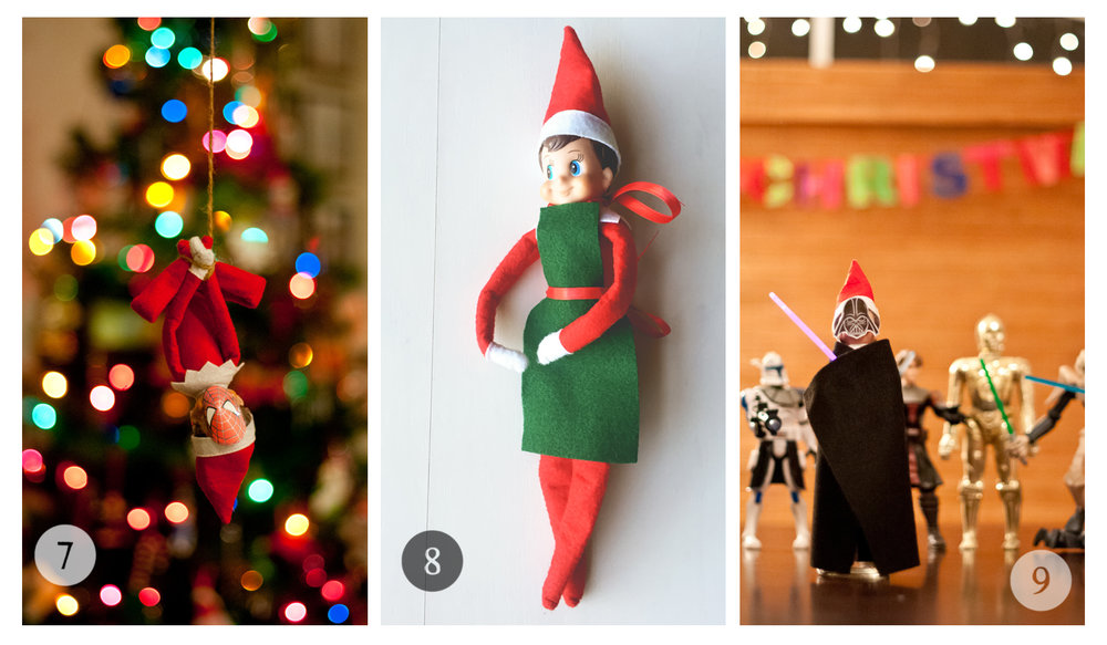 Elf Magic - Why we love the Elf on the Shelf Tradition + photo inspiration/ideas ==>>  hellotracylarsen.com