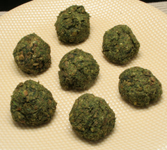 Lentil Spinach Meatballs